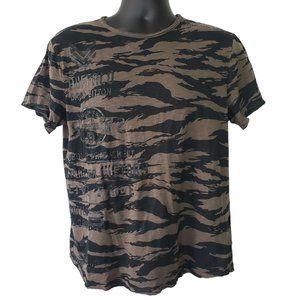 Buffalo David Bitton Men's Camouflaged T-Shirt